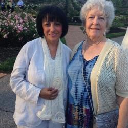 Pat Shanley (ARS VP) & Jolene Adams (ARS President)