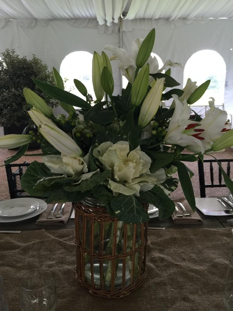 These Stargazer Barn lilies were spectacular!
